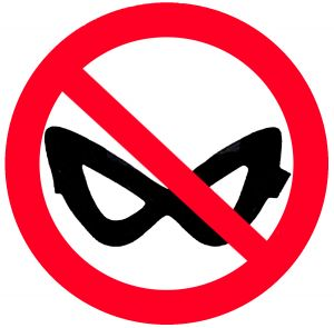 masks banned